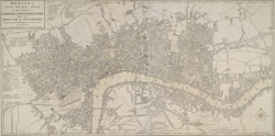 BOWLES'S NEW POCKET PLAN OF THE CITIES OF LONDON & WESTMINSTER; WITH THE BOROUGH OF SOUTHWARK: Comprehending the New Buildings and other Alterations to the Year 1780